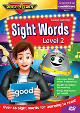 Sight Words DVD, Volume 2