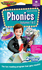 Phonics Double CD & Book Program Audio/CD
