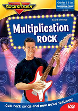 Multiplication Rock On DVD