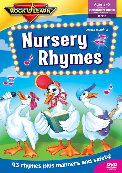 Nursery Rhymes On DVD