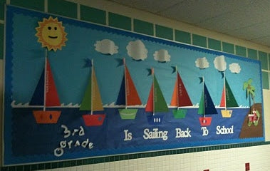 Quot Sailing Back To School Quot Classroom Bulletin Board Idea