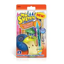 Mr. Sketch Scented Color Pencils, 12 Pack