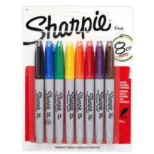 Sharpie Fine 8 Color Set Carded