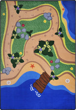 "Sandy Shores© Classroom Carpet, 7'8"" x 10'9"" Rectangle"