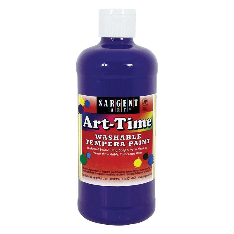 Sargent Art ® Washable Tempera Paint, 16 Oz. Violet