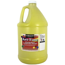 Sargent Art® Washable Tempera Paint, 1 Gallon Yellow