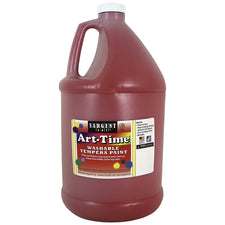 Sargent Art ® Washable Tempera Paint, 1 Gallon Red