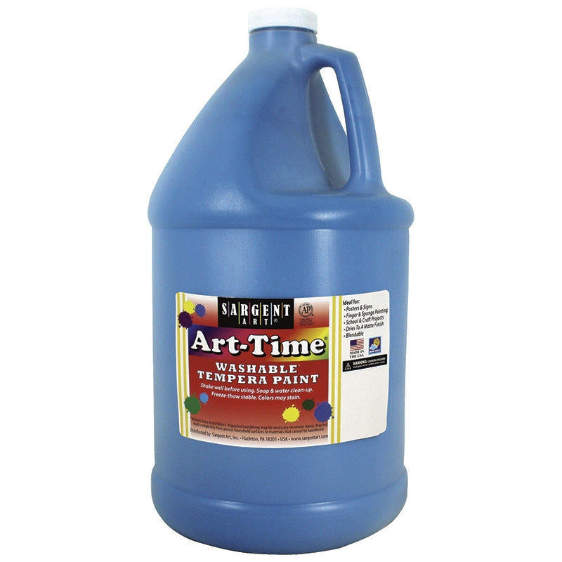 Sargent Art® Washable Tempera Paint, 1 Gallon Turquoise