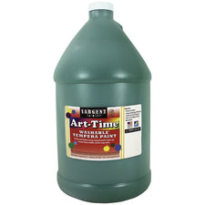 Sargent Art ® Washable Tempera Paint, 1 Gallon Green