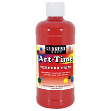 Sargent Art ® Tempera Paint, 16 Oz. Red