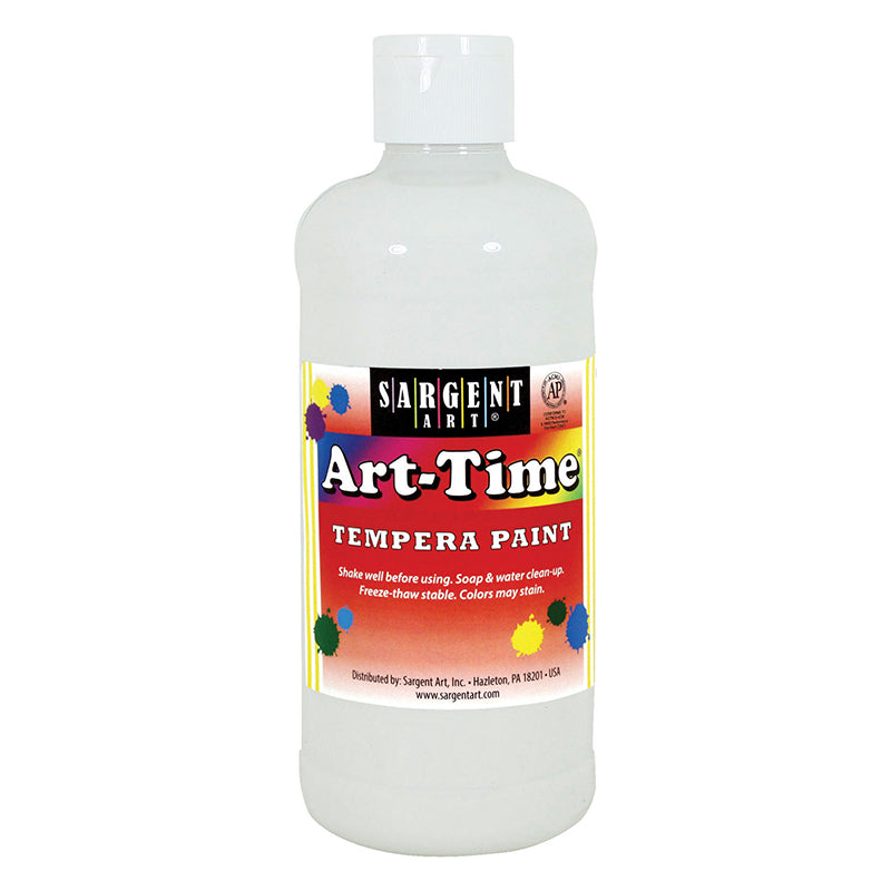 Sargent Art ® Tempera Paint, 16 Oz. White