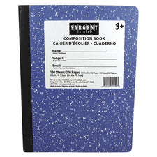 Sargent Art® Hard Cover Composition Book, Blue
