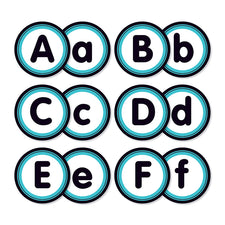 Aqua Oasis: Alphabet Bulletin Board Set