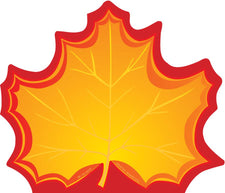 Notepad Large Maple Leaf