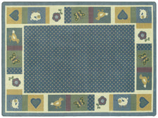 "Seeing Spots© Classroom Rug, 5'4"" x 7'8"" Rectangle Soft"