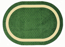"Sharing Circle© Classroom Rug, 5'4"" x 7'8""  Oval Green"