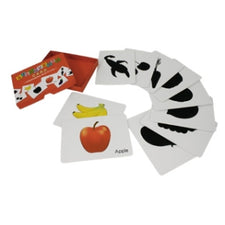 Silhouette Fruit & Vegetable Cards