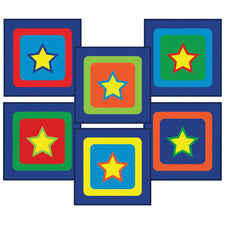 Sitting Stars Sitting Squares™, Set of 24 Carpet Squares