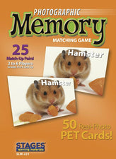 Pets Photographic Memory Matching Game