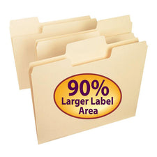 SuperTab® Oversized Tab Manila File Folders, 24 Per Package