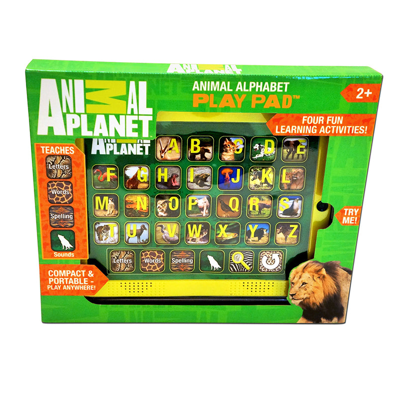 Animal Planet: Animal Alphabet Play Pad