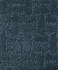 "Soft-Touch Texture Blocks – Slate Blue, 8'4"" x 12' Rectangle"
