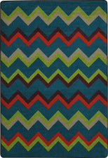 "Sonic© Tropics Classroom Rug, 5'4"" x 7'8"" Rectangle"