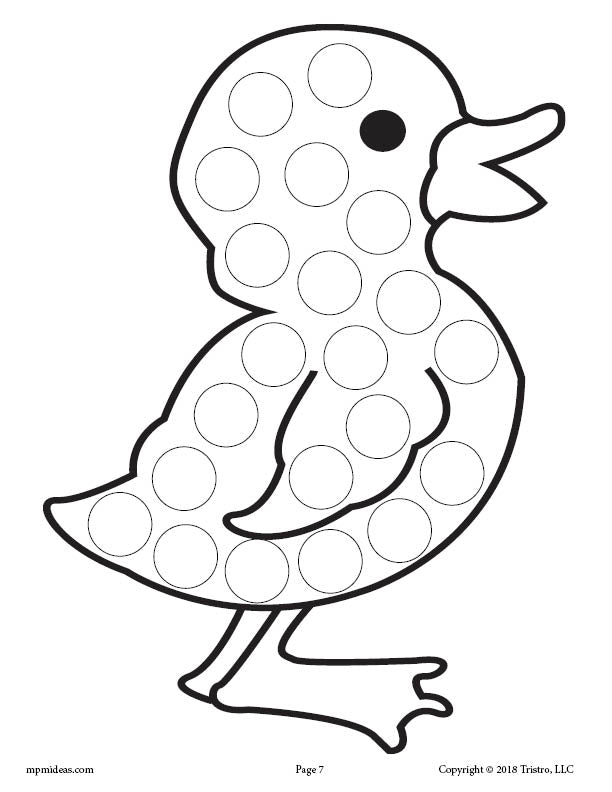It is an image of Handy Free Do a Dot Printables