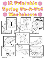 12 Spring Do-A-Dot Printables!