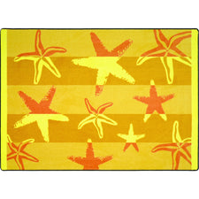 "Starfish™ Classroom Rug, 5'4"" x 7'8"" Rectangle"