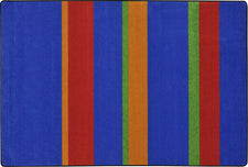 "Straight and Narrow© Primary Classroom Rug, 7'8"" x 10'9"" Rectangle"