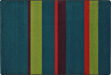 "Straight and Narrow© Tropics Classroom Rug, 7'8"" x 10'9"" Rectangle"