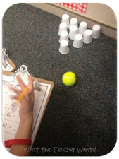 Subtraction Bowling (with FREEbie!)