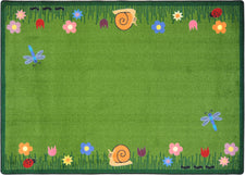 "Summer Friends© Classroom Rug, 3'10"" x 5'4"" Rectangle"