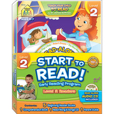 Start to Read! Level 2 Early Reading Program 6-Book Set