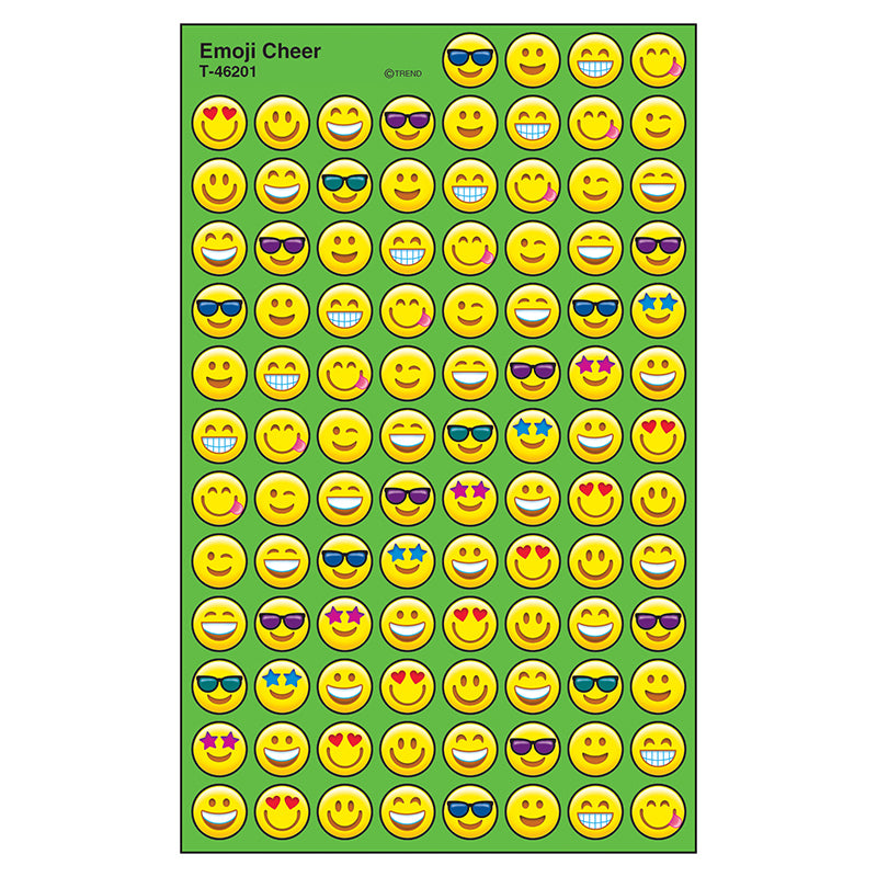 Emoji Cheer superSpots® Stickers