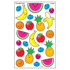 Friendly Fruit superShapes Stickers – Large