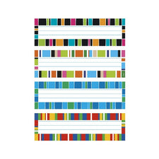 Trend Enterprises Stripe-tacular Desk Toppers® Name Plates Variety Pack