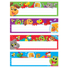Playtime Pals™ Desk Toppers® Name Plates Variety Pack