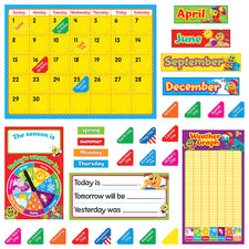 Playtime Pals™ Calendar Bulletin Board Set