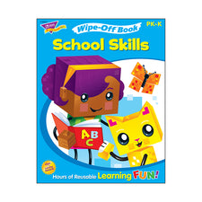 School Skills Wipe-Off® Book