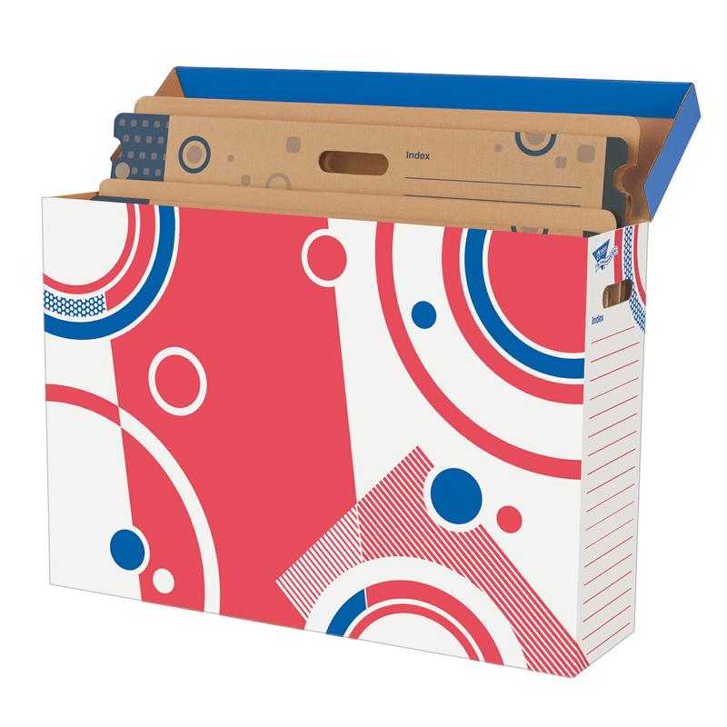 Bulletin Board Storage Box File 'n Save System®