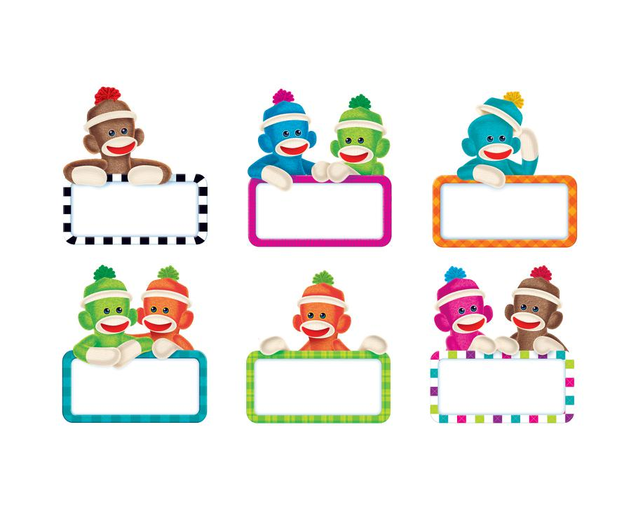 Sock Monkeys Signs Classic Accents® Variety Pack