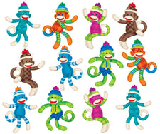 Sock Monkeys (Patterns) Classic Accents® Variety Pack