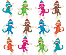 Sock Monkeys (Solids) Mini Accents Variety Pack