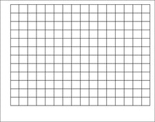 Graphing Grid (1 1/2-Inch Squares) Wipe-Off® Chart