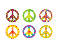 Peace Signs (Patterns) Classic Accents® Variety Pack