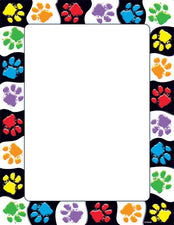 Paw Prints Terrific Papers™