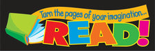 Turn the pages of your imagination…READ! Bookmarks