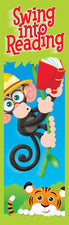 Swing into Reading (Monkey Mischief®) Bookmarks